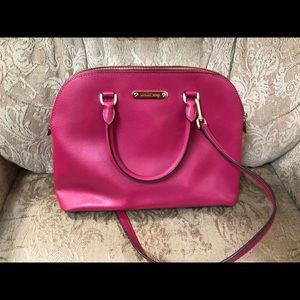 Hot pink Michael Kors bag